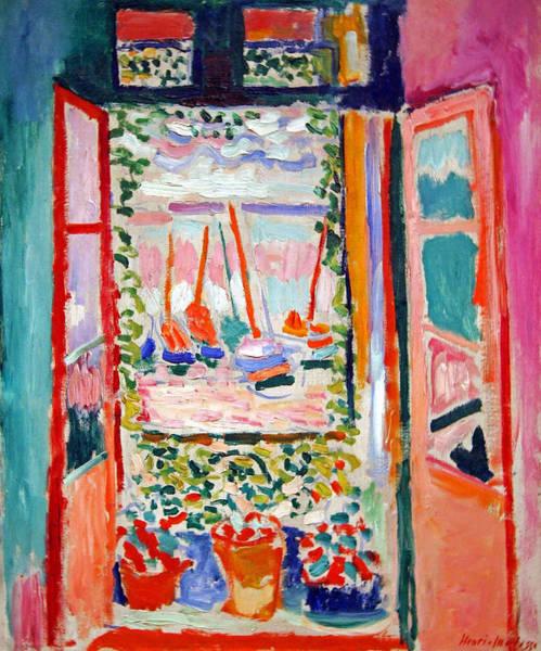 Henri Wall Art - Photograph - Matisse's Open Window At Collioure by Cora Wandel