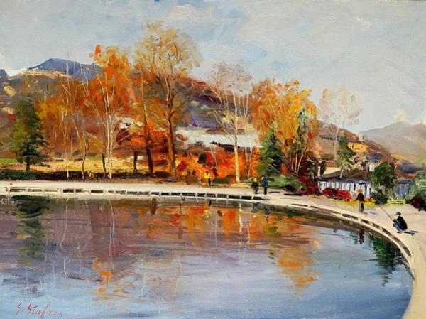 Painting - Matka Shkup - Skopje by Sefedin Stafa