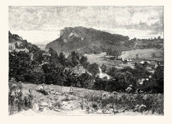 Developed Drawing - Matlock Bath Is A Village South Of Matlock In Derbyshire by English School