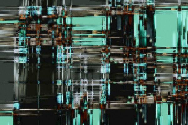 Digital Art - Matrix 1 by David Hansen