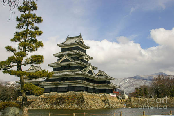 Photograph - Matsumoto Castle In Japan by Didier Marti