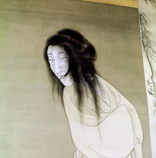 Ghosts Photograph - Matsumura Goshun Painting Of A Ghost by Horst P. Horst