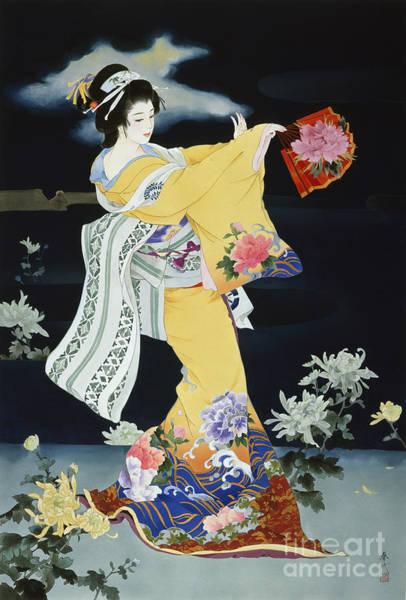 Kimono Digital Art - Matsuri by MGL Meiklejohn Graphics Licensing