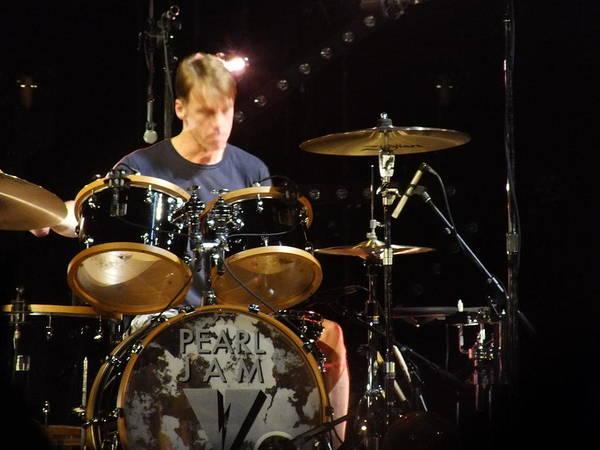 Pearl Jam Photograph - Matt Cameron - Oakland 2013 by Daniel Taylor