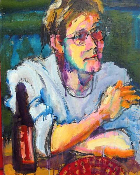 Painting - Matt by Les Leffingwell