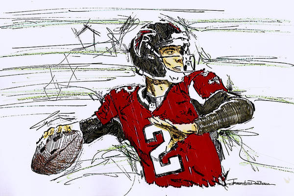 Hotlanta Photograph - Matt Ryan - Atlanta Falcons by Jerrett Dornbusch