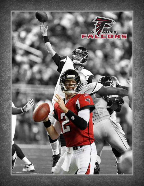 Falcons Photograph - Matt Ryan Falcons by Joe Hamilton