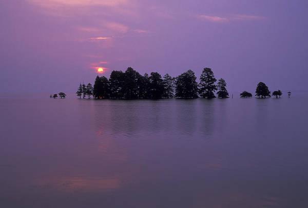 Photograph - Mattamuskeet Sunrise by Jim Dollar
