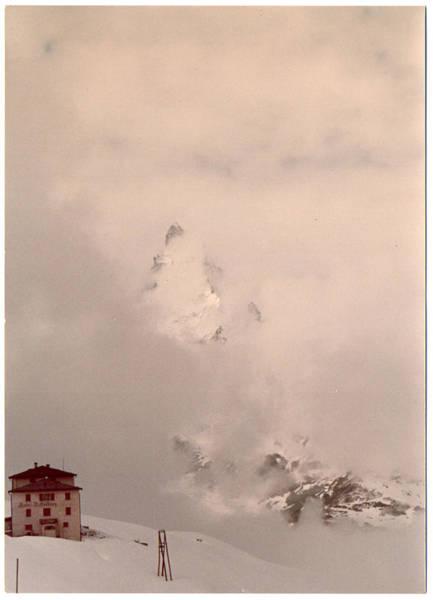 Photograph - Matterhorn Circa 1970 by rd Erickson