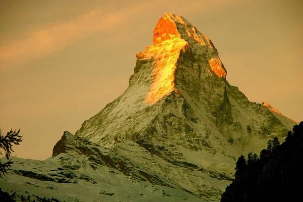 Photograph - Matterhorn In Switzerland by Monique Wegmueller
