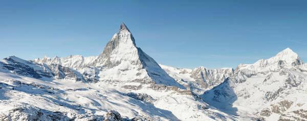 Elegance Photograph - Matterhorn Panorama by Georgeclerk