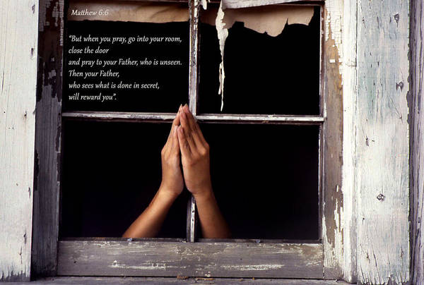 Matthew 6 6 Art Print
