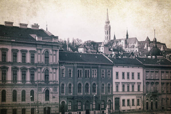 Buda Photograph - Matthias Church And Vizivaros by Joan Carroll