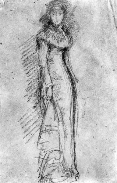 Wall Art - Drawing - Maud Franklin (1857-1941) by Granger