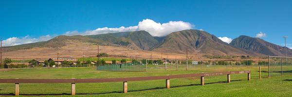 Maui Hawaii Mountains Near Kaanapali   Art Print
