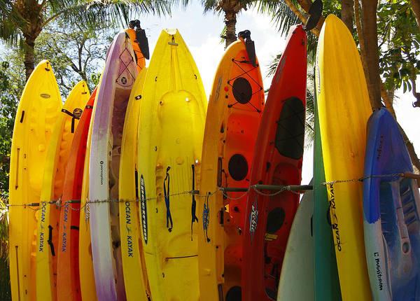 Photograph - Maui Kayaks by Marilyn Wilson
