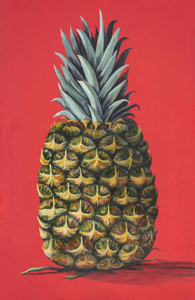 Painting - Maui Pineapple 2 by Darice Machel McGuire