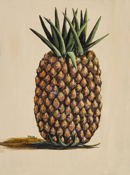 Painting - Maui Pineapple 3 by Darice Machel McGuire
