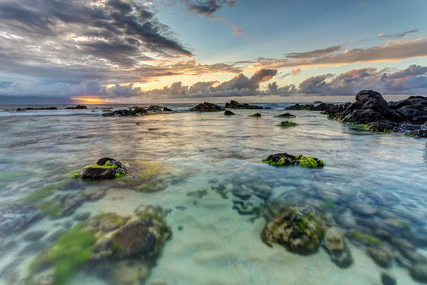 Photograph - Maui Seascape At Sunset by Pierre Leclerc Photography