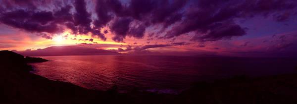 Maui Photograph - Maui Sunrise by Jeff Klingler