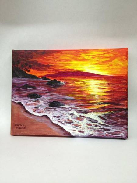 Painting - Maui Sunset by Darice Machel McGuire