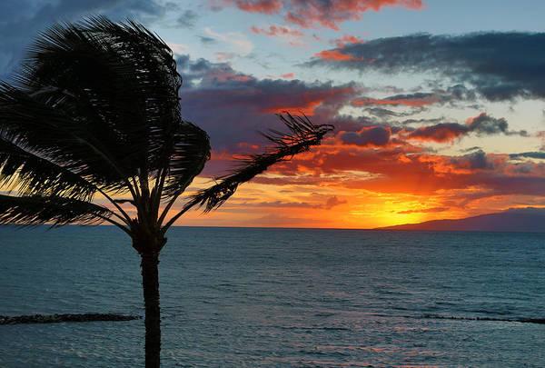 John Hancock Photograph - Maui Sunset by John Hancock