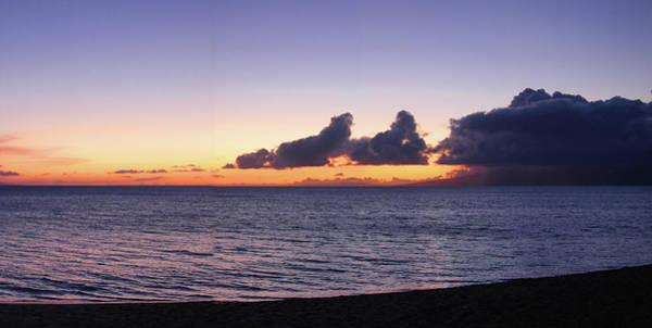Maui Sunset Panorama Art Print