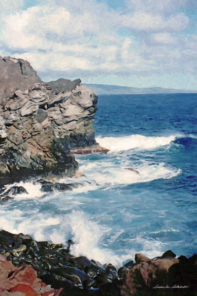 Painting - Maui Surf by Susan Schroeder