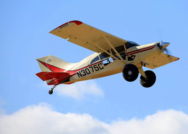 Photograph - Maule M-7-235a Stol Fly-by N3075c by John King