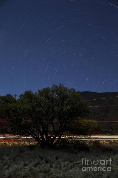 Photograph - Mauna Kea Night Sky by Charmian Vistaunet