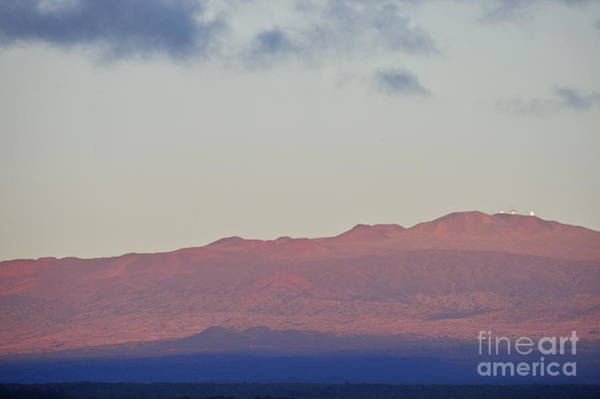 Wall Art - Photograph - Mauna Kea Volcano At Sunrise From Hilo by Sami Sarkis