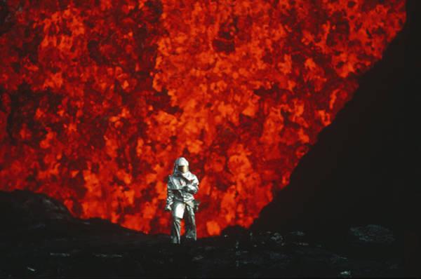 Photograph - Mauna Loa Volcano by Krafft/Explorer