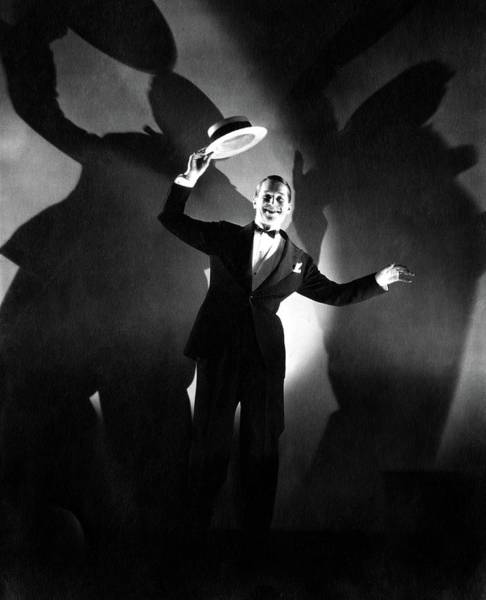 Wall Art - Photograph - Maurice Chevalier Holding A Boater Hat by Edward Steichen