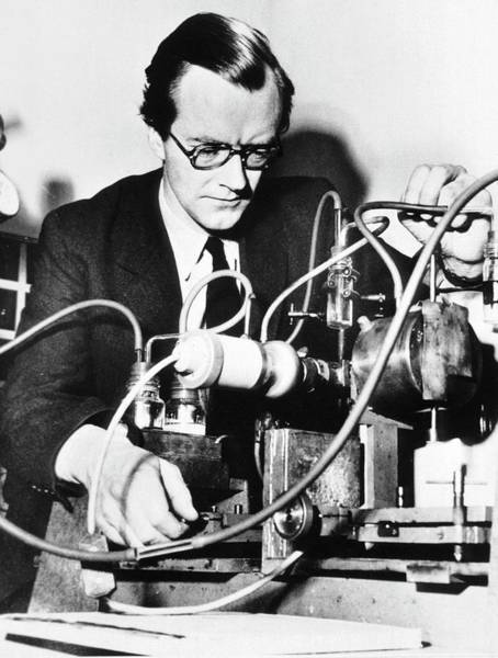 Nobel Prize Laureate Photograph - Maurice Wilkins by National Library Of Medicine