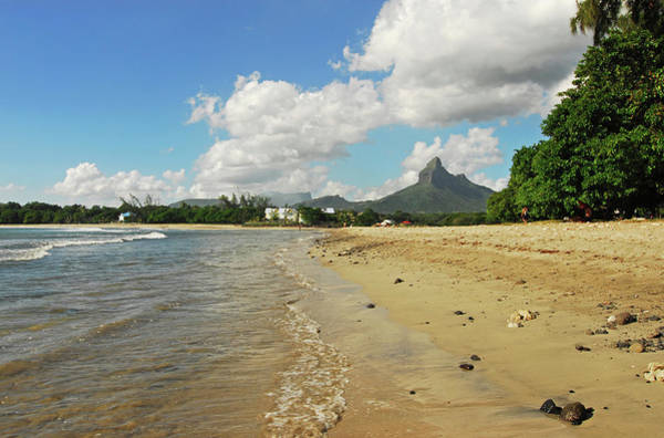 Indian Peaks Photograph - Mauritius, Tamarin, View Of Calm Beach by Anthony Asael
