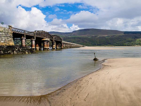 Barmouth Photograph - Mawddach Rail Bridge by Mark Llewellyn