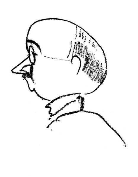 1924 Drawing - Max Eitingon (1881-1943) by Granger