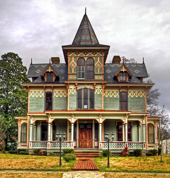 Photograph - Max Hoffman House by Jerry Gammon