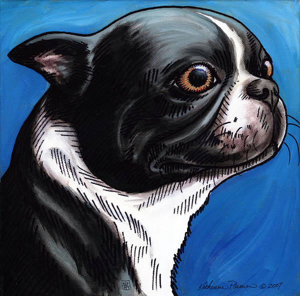 Wall Art - Painting - Max by Katherine Plumer