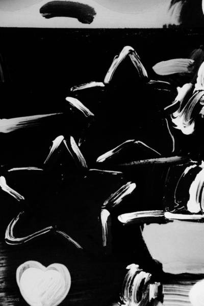 Caricature Mixed Media - Max Two Stars In Black And White by Rob Hans