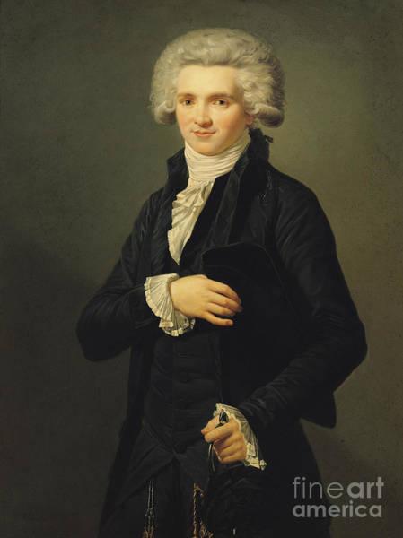 Wall Art - Painting - Maximilien De Robespierre by Pierre Roch Vigneron