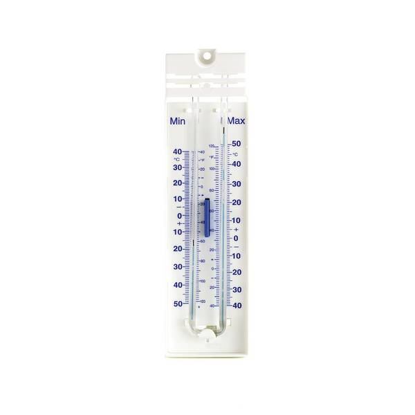 Thermometer Wall Art - Photograph - Maximum And Minimum Thermometer by Science Photo Library