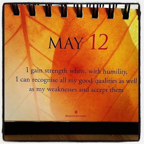 Charity Wall Art - Photograph - May 12th #strength #spiritual by Samantha Charity Hall