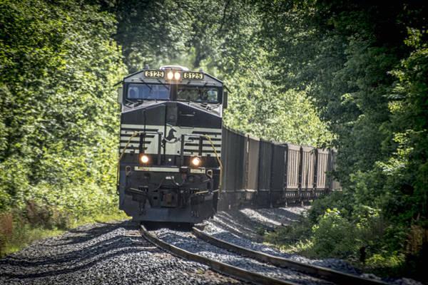 Ns Photograph - May 20 2014 - A Ns Coal Train At Richland Ky by Jim Pearson
