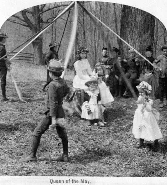 Photograph - May Day Festival, C1891 by Granger