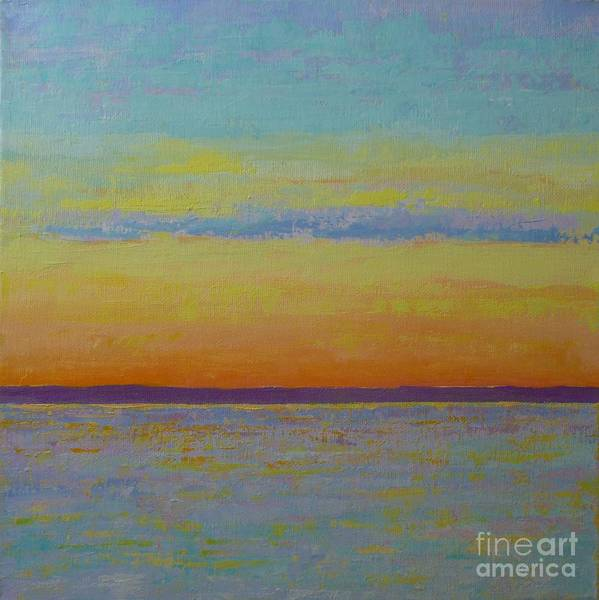 Painting - May Sunset by Gail Kent