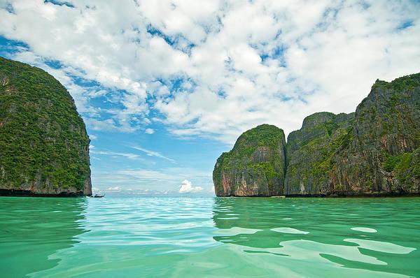 Phi Phi Island Photograph - Maya Bay | Koh Phi Phi Leh | Thailand by Xavier Hoenner Photography