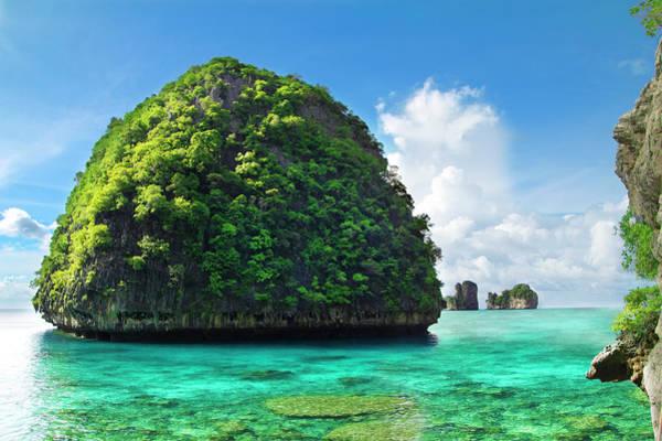 Phi Phi Island Photograph - Maya Bay Paradise - Thailand by Vito elefante