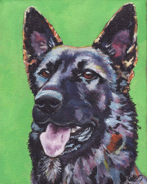Painting - Maya by Greg and Linda Halom