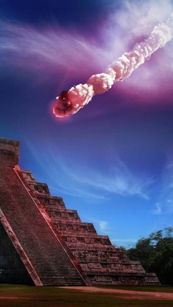 Kukulcan Photograph - Mayan End-of-the-world 2012 Prediction by Tim Vernon / Science Photo Library